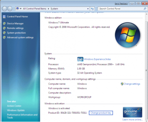 Windows 7 Product Key 32/64 bit 100% Working